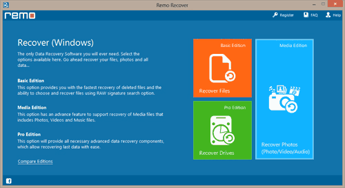 PowerPoint Recovery Tool - Main Screen